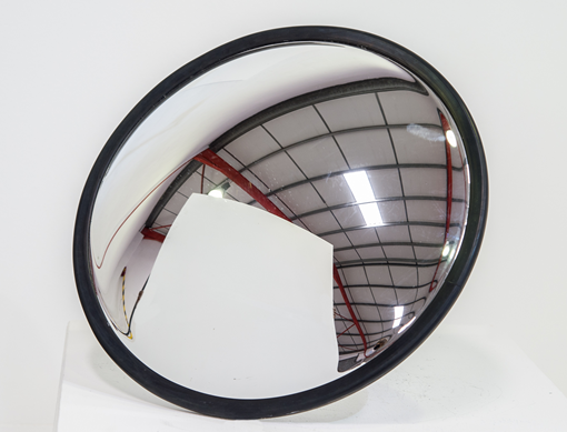 The Indoor Convex Mirror is suitable for hallways and factory corners. Install your convex mirror in retail stores for security, or to illuminate blind spots indoors.